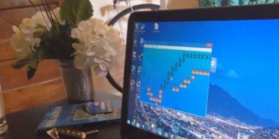 El joven programó un juego especial para su novia Foto:LA Pike/YouTube