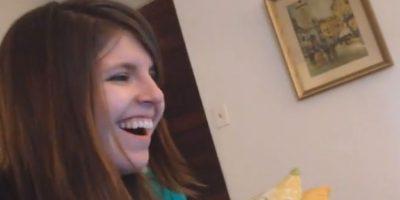 Ella se sorprendió por la propuesta Foto:LA Pike/YouTube