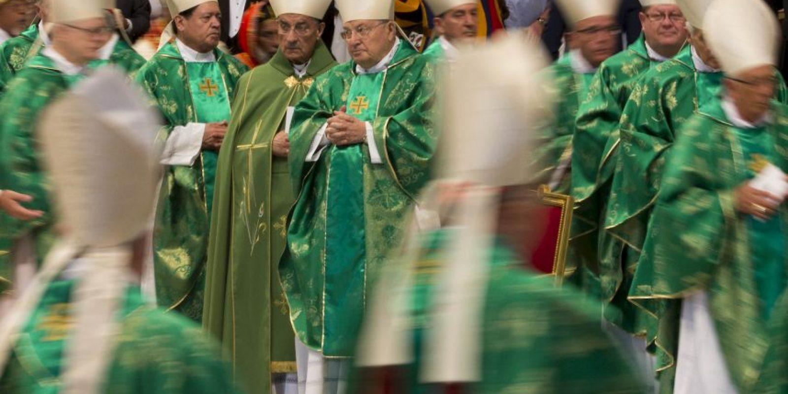 Este será el tema principal de las discusiones entre los obispos, cardenales, arzobispos, patriarcas, párrocos y distintos religiosos. Foto:AP
