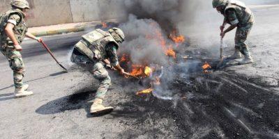 La cual fue aprovechada por grupos terroristas como Estado Islámico para tener el control de la zona Foto:AFP