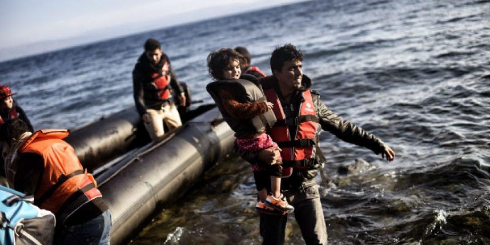 A pesar de los cambios climáticos los migrantes no se detienen. Foto:AFP
