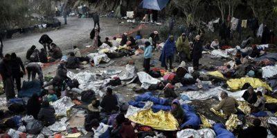Según informó FRONTEX, encargada de la seguridad de las fronteras europeas, 630 mil personas han cruzado tan solo en 2015 Foto:AFP