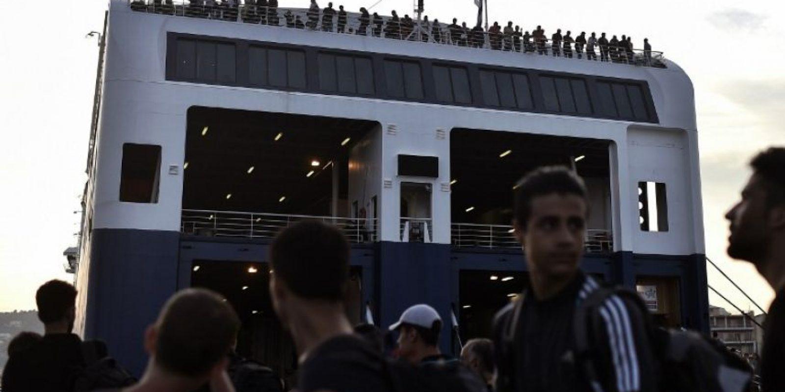 Alemania cree que hasta 1.5 millones de migrantes podrían llegar a su territorio Foto:AFP