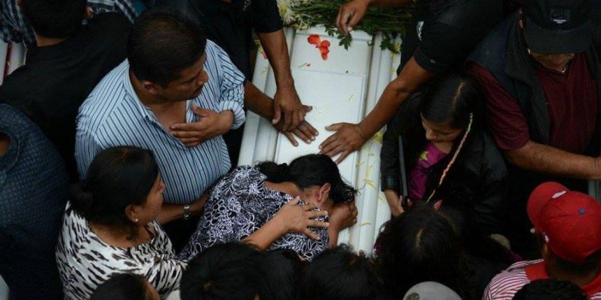 Conmovedoras imágenes a tres días de la #TragediaElCambray