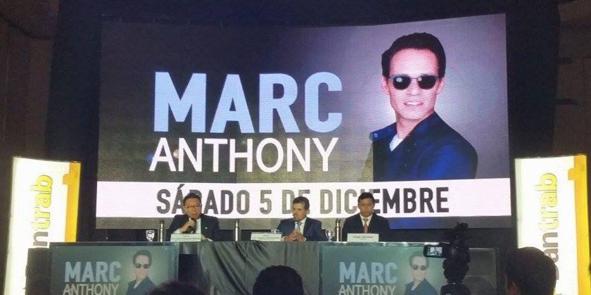 Todos los detalles del concierto de Marc Anthony en el país