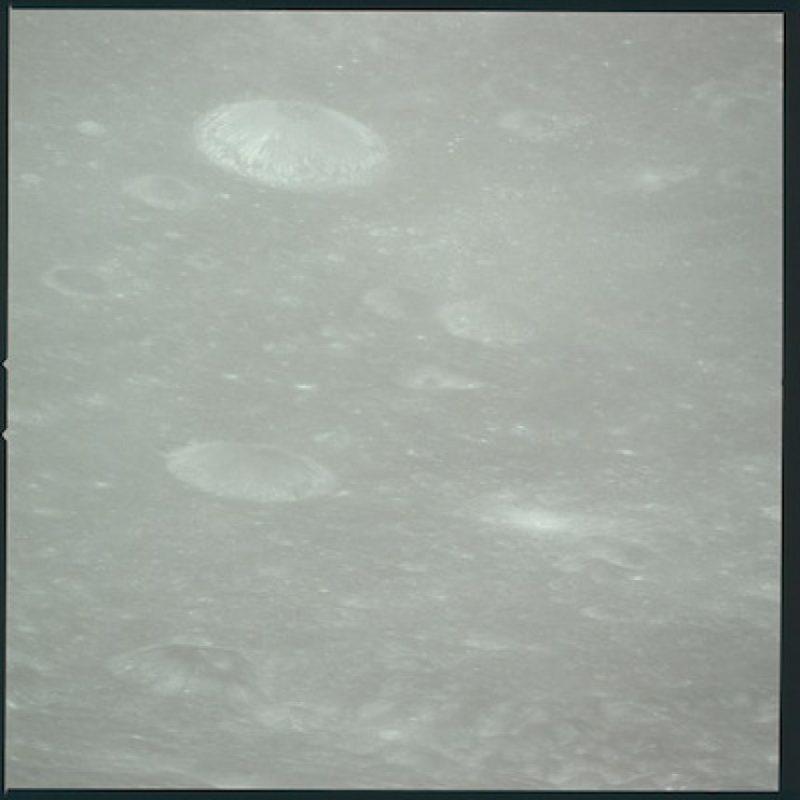 Su llegada a la órbita de la Luna Foto:Flickr.com/projectapolloarchive