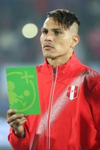 8. Perú / Paolo Guerrero Foto: Getty Images