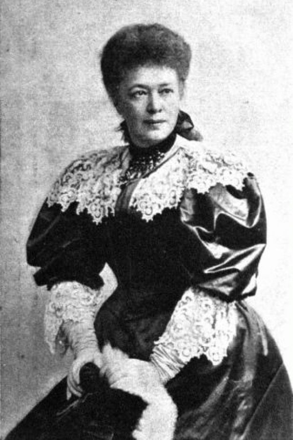 Fue presidenta honoraria de la Oficina Internacional por la Paz, Berna, Suiza. Foto:Wikipedia