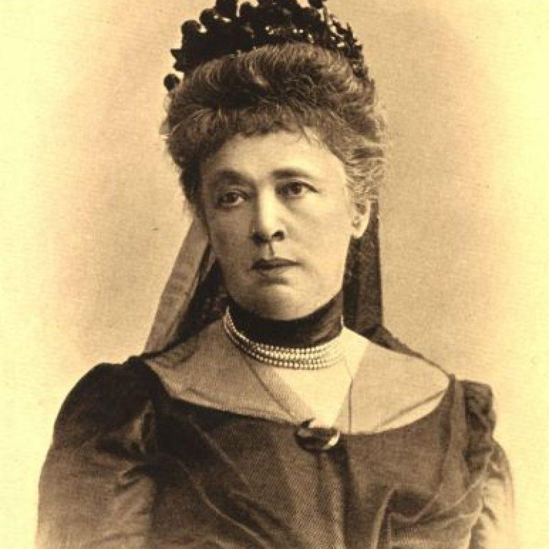 Bertha Von Suttner, primera mujer galardonada con el Premio Nobel de la Paz en 1905 Foto:Wikipedia