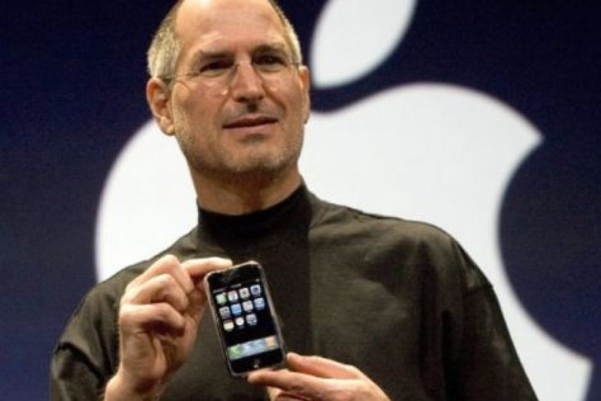 9 de enero de 2007: Steve Jobs presenta el iPhone. Foto: Getty Images