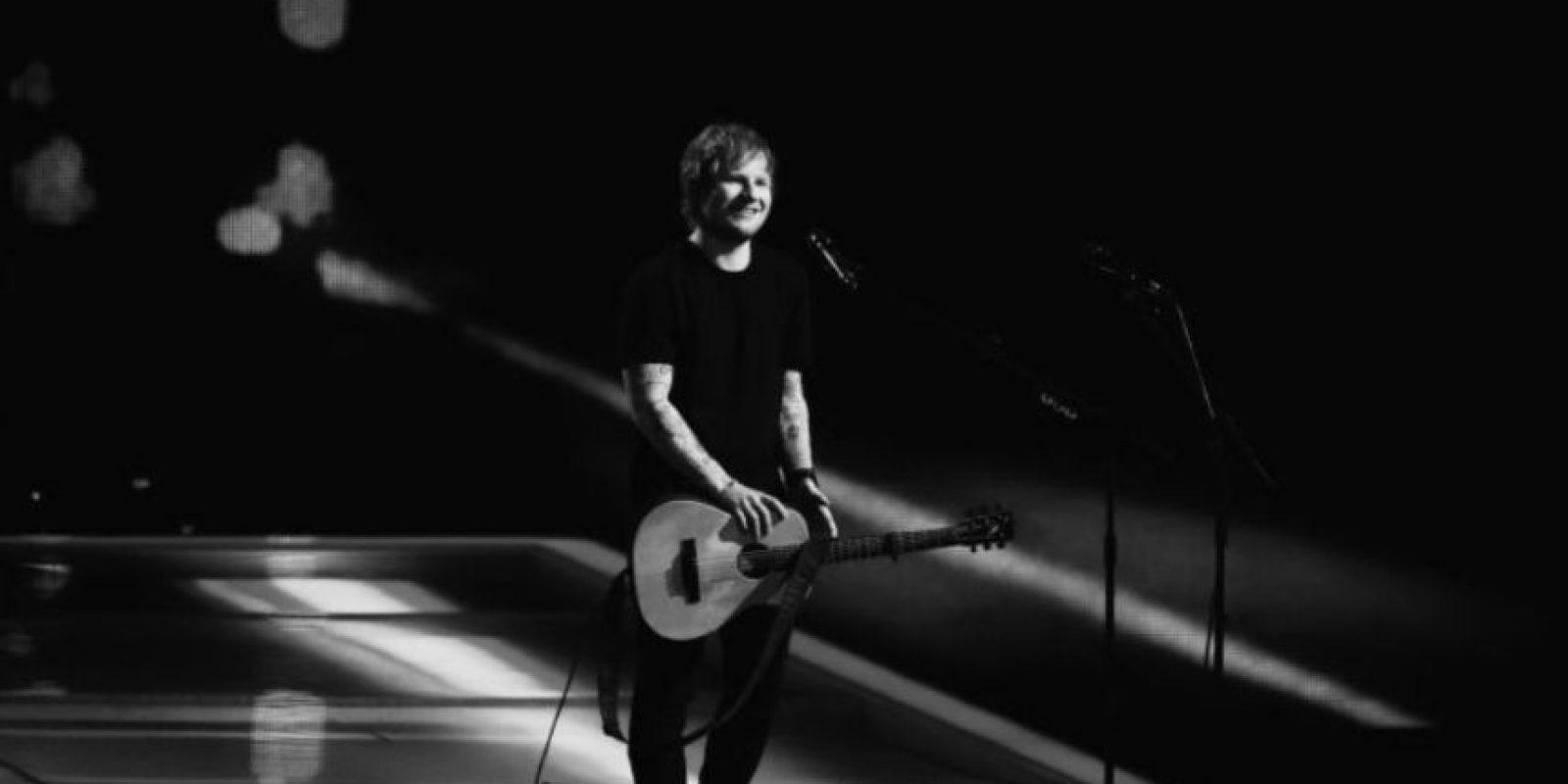 El artista más popular en el 2014 fue Ed Sheeran. Foto:Getty Images