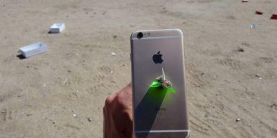 Video: Esto pasa cuando le disparan una flecha al iPhone 6s