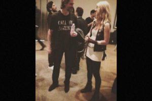 Mientras Carrey disfrutaba de la fiesta del diseñador BLAKHAT. Foto:Instagram/nebraskaj