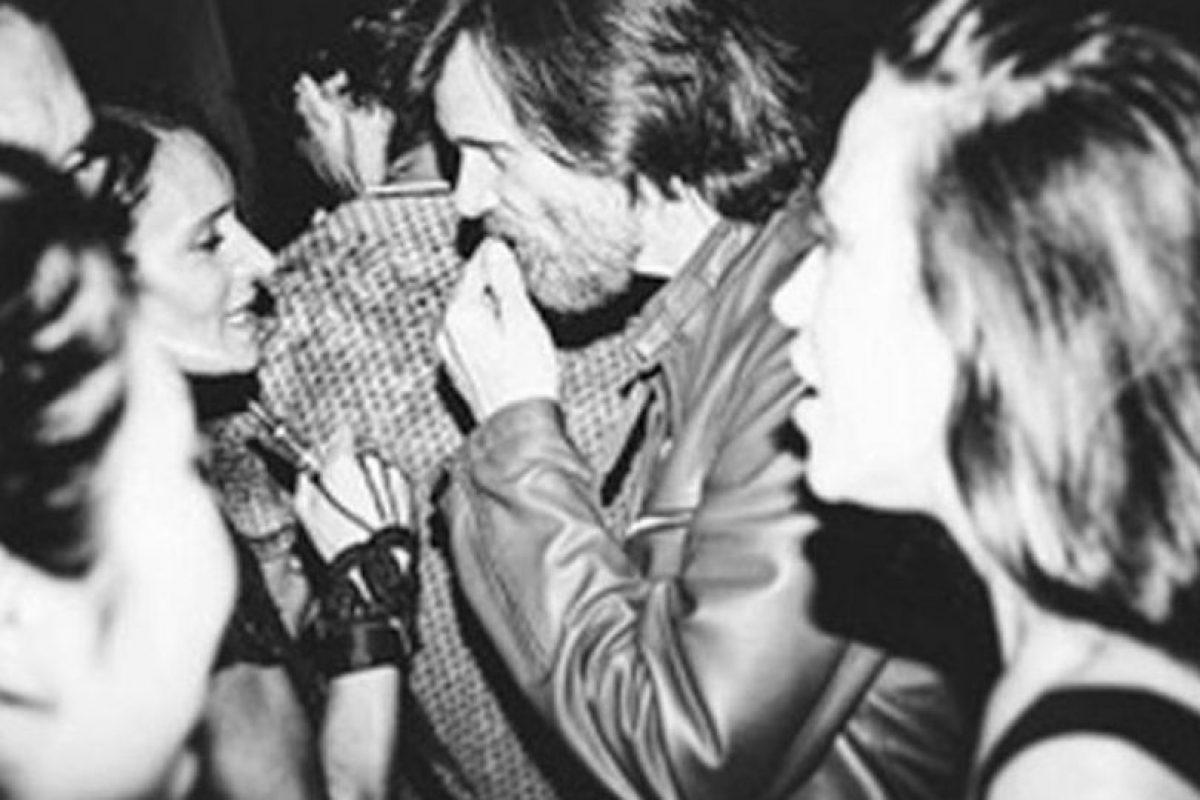 El actor se encontró con amigos y celebró toda la noche. Foto:Instagram/littleirishcat