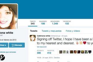 El 24 de septiembre cerró su cuenta de Twitter. Foto:Twitter/littleirishcat