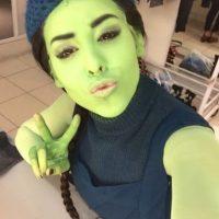 """En julio 2013 la actriz fue presentada ante la prensa como """"Elphaba"""", la """"bruja verde"""" del musical teatral """"Wicked"""". Foto:vía instagram.com/dannapaola"""