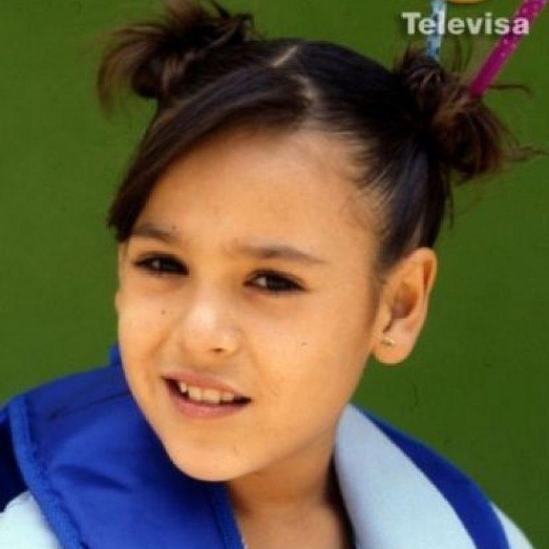 """Más adelante, lanzó una muñeca con su imagen y su segundo álbum, """"Mi globo azul"""". Foto:Televisa"""