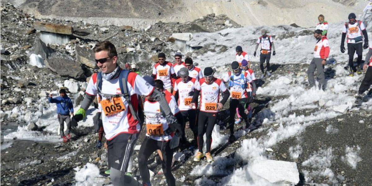 Desafían a la naturaleza en el maratón más elevado del mundo