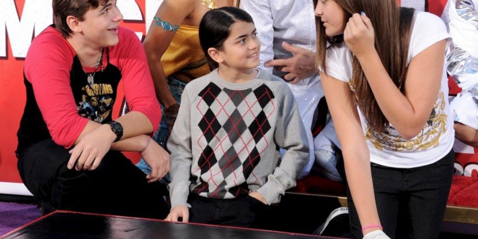 El año siguiente le dieron una entrevista a Oprah Winfrey sobre su padre Foto:Getty Images