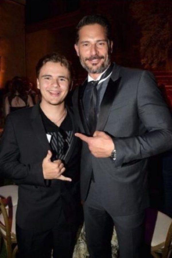 Prince Jackson y Joe Manganiello Foto:vía twitter.com/princemjjjaxon