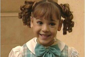 """Cuando apenas tenía cinco años, participó en el programa """"Plaza Sésamo"""" y, en 2001, trabajó en """"María Belén"""" Foto:vía childstarlets.com"""