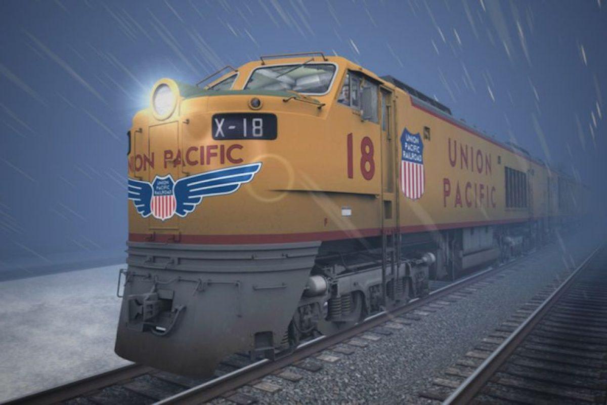 Conduciendo la legendaria locomotora de turbina de gas de Union Pacific Foto:Dovetail Games
