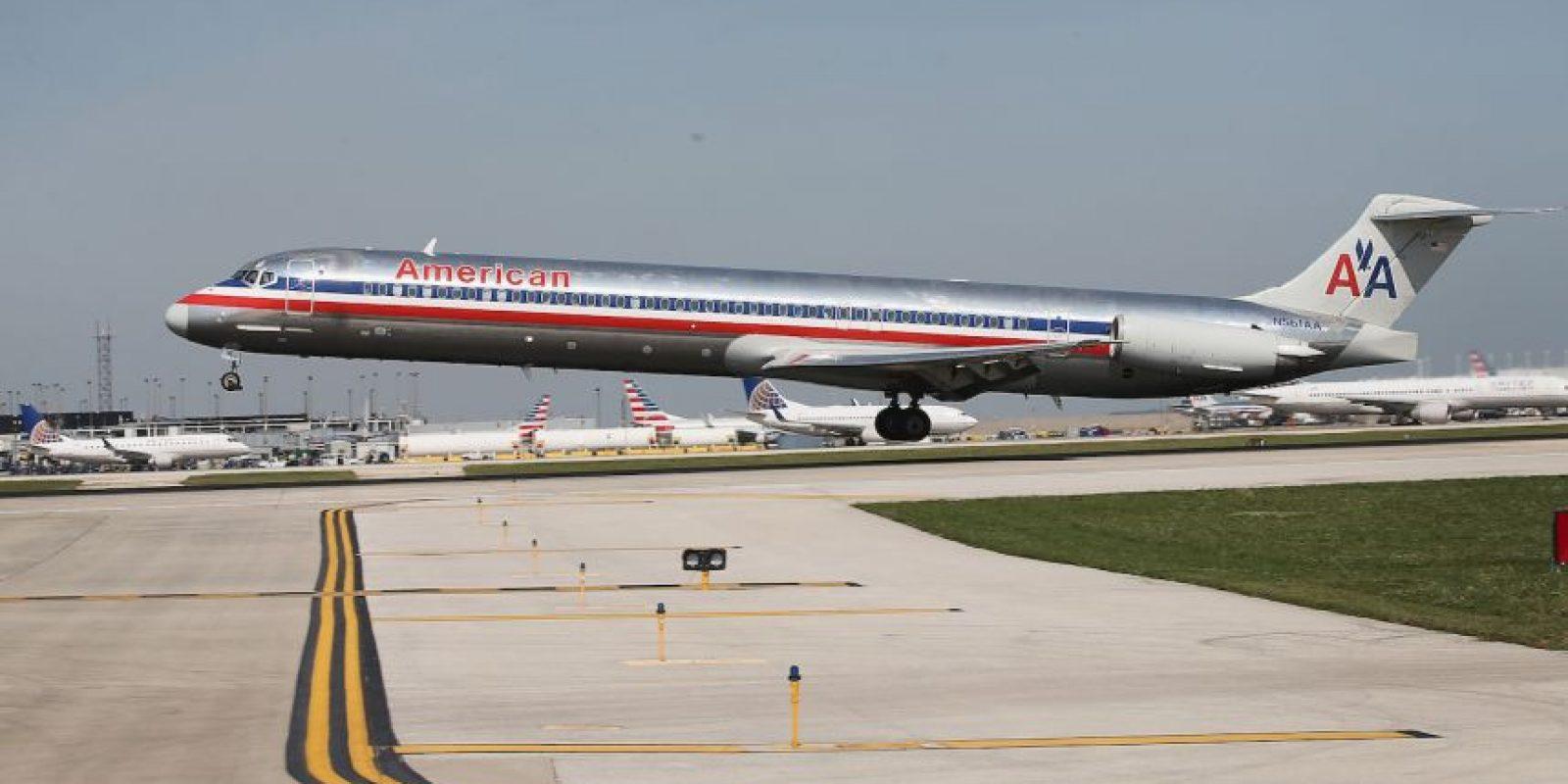 El vuelo partió de Phoenix a Boston, debido a la situación se tuvo que hacer una escala en Nueva York. Foto:Getty Images