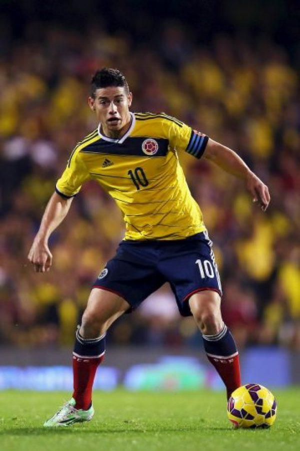 Es la máxima figura de Colombia actualmente, pero no podrá jugar las primeras dos fechas por lesión. El jugador del Real Madrid se perderá los duelos ante Perú y Uruguay, pero podrá volver después para asumir el rol de líder que le corresponde. Foto:Getty Images