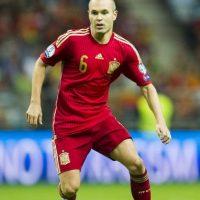"""Además, con España ha ganado dos Europeos Sub 16 y Sub 19, dos Eurocopas (2008 y 2012) y un Mundial (2010), siendo él anotador del tanto que le dio el título a la """"Roja"""" sobre Holanda. Foto:Getty Images"""