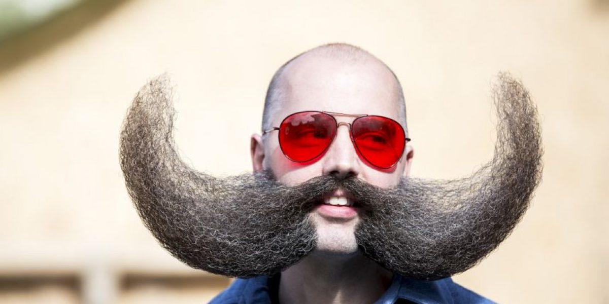 Fotos: Barbas y bigotes a montones en este campeonato mundial
