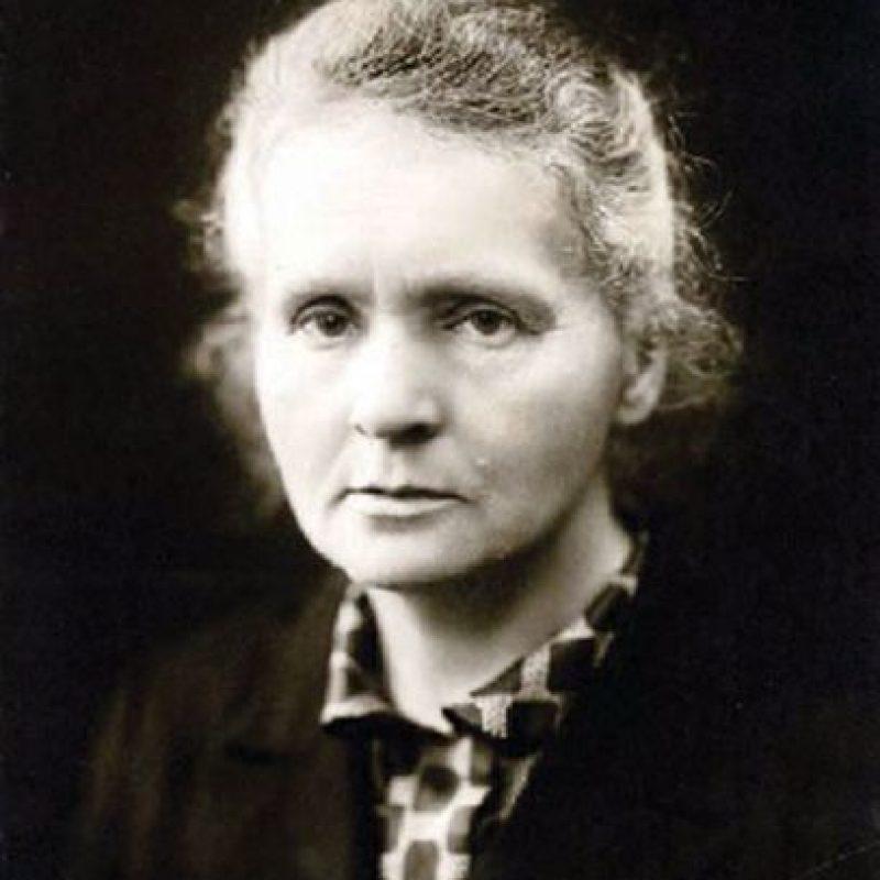 Marie Curie, galarnadonada en 1903 y 1911 en las categorías Física y Química, respectivamente Foto:Wikipedia