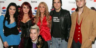 """La música de """"RBD"""" no está en Spotify ni en iTunes. Foto:Getty Images"""