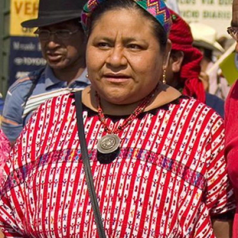Rigoberta Menchú Foto:Wikipedia