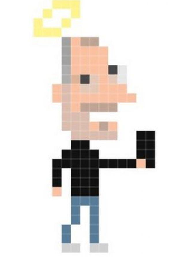 Jobs en píxeles, seguramente le hubiera gustado esta imagen Foto:Andy Rash
