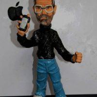 Los fanáticos recordaron al director de Apple con figuras de plastilina Foto:Twitter/Plastifiguras