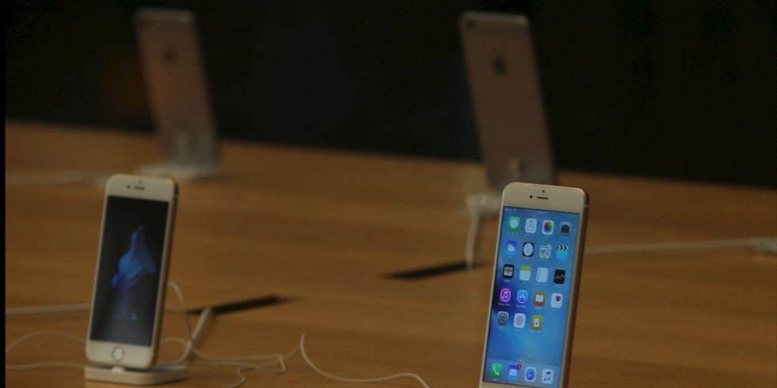 4- Mejores cámaras (trasera de 12 megapíxeles y frontal de 5MP) Foto:Apple