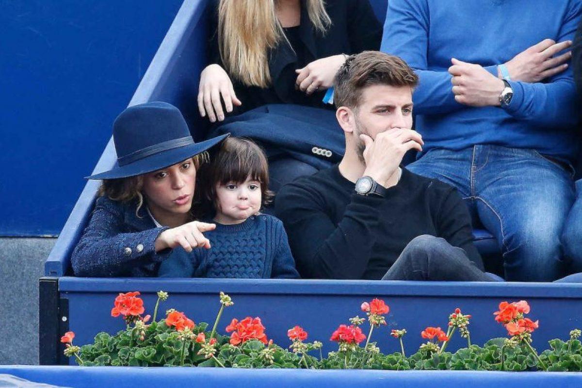 Milan Piqué es el primogénito de Shakira y Gerard Piqué Foto:Grosby Group
