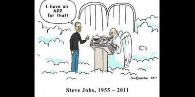 Algunos creen que Steve sigue innovando desde el cielo Foto:Randall Munroe
