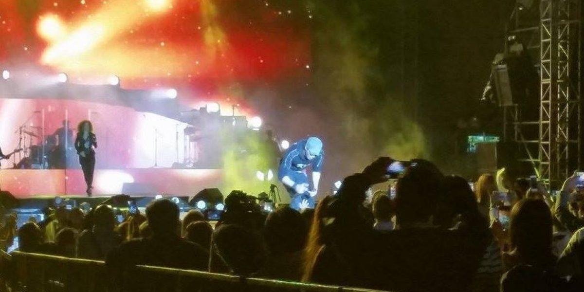 VIDEO. Enrique Iglesias rompió el protocolo en el concierto del sábado y esto hizo
