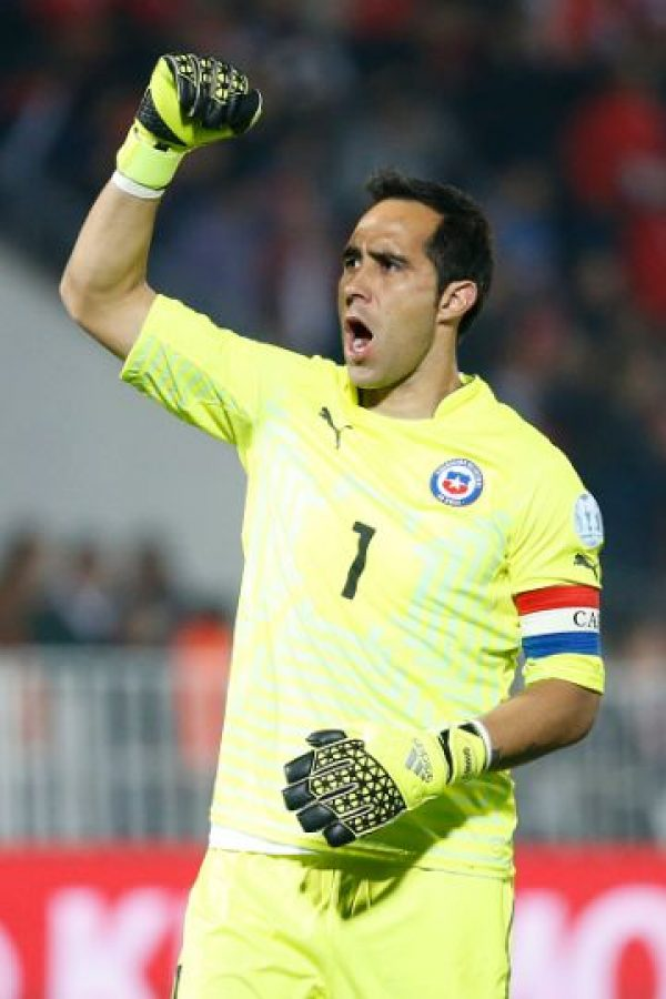 PORTERO: Claudio Bravo (Chile/Barcelona) Foto: Getty Images