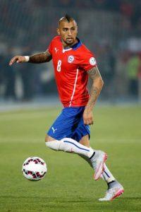 """Es el mejor futbolista chileno de la actualidad. El """"Rey Arturo"""" tiene el talento necesario para brillar en estas eliminatorias y llevar a la """"Roja"""" de manera directa a Rusia 2018. Foto:Getty Images"""