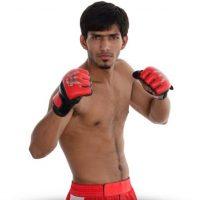 Amitesh Chaubey, el vencedor. Foto:superfightleague.com