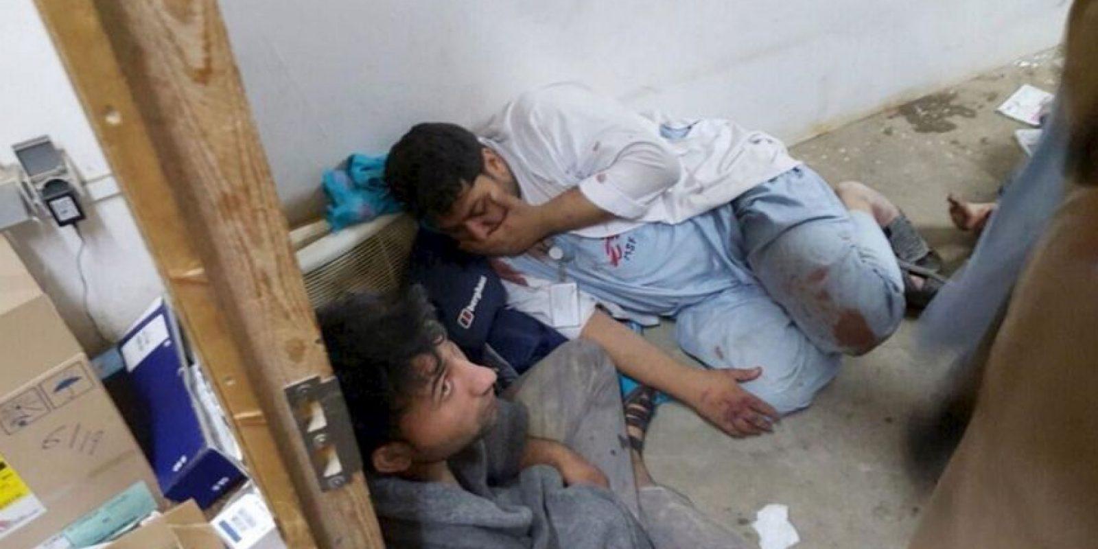 El pasado sábado se produjo un ataque a un hospital de Médicos Sin Fronteras en la ciudad de Kunduz, en Afganistán. Foto:AP