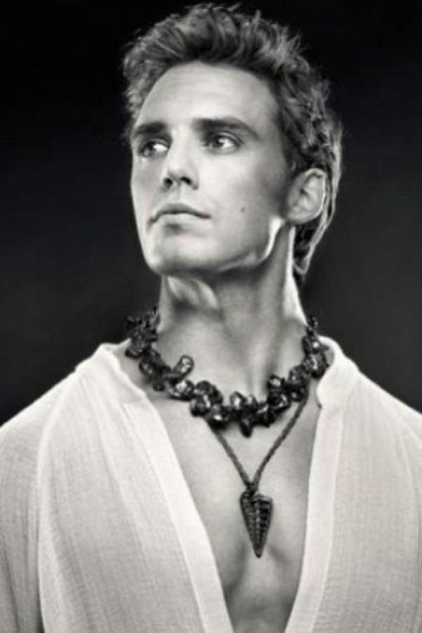 """Finnick Odair"" es Sam Clafilin Foto: TIME / Tim Palen"