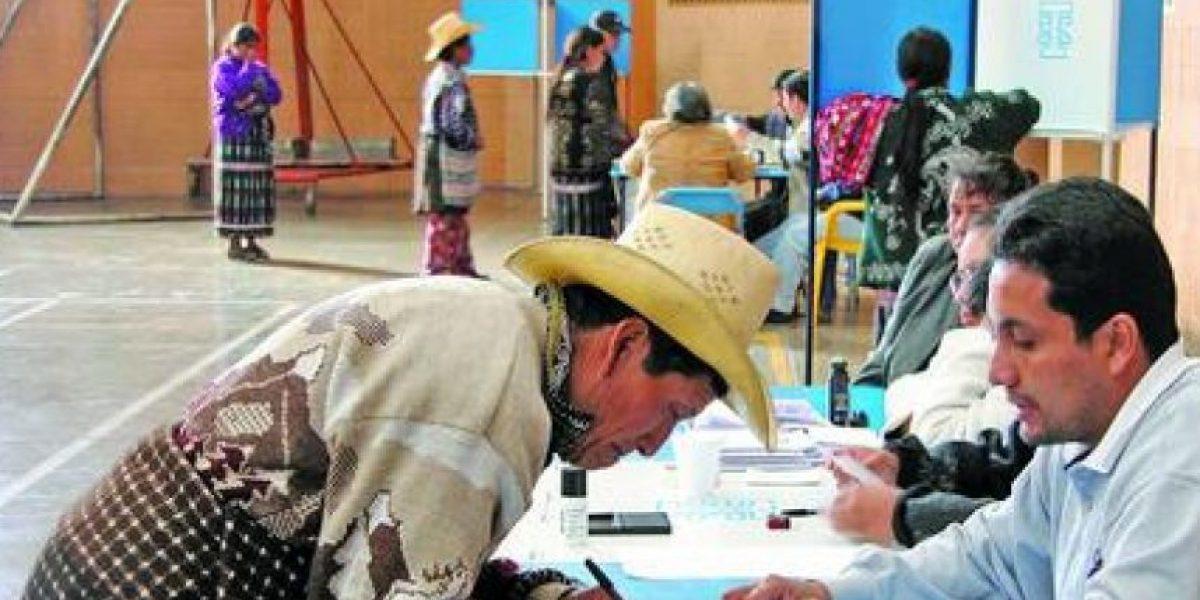 TSE convoca a votar en los 11 municipios conflictivos
