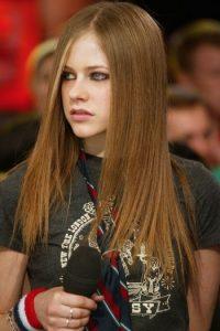 Avril Lavigne saltó a la fama en el año 2002. Foto:Getty Images
