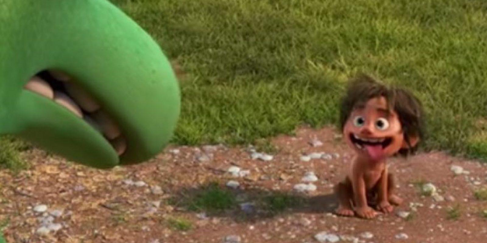 La nueva película de Pixar muestra una línea de tiempo muy diferente. Foto:Disney