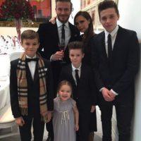 Ahora los Beckham son una de las familias más populares de la farándula. Foto:vía instagram.com/victoriabeckham