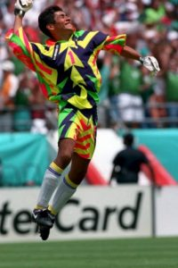 Jorge Campos (México) Foto: Getty Images