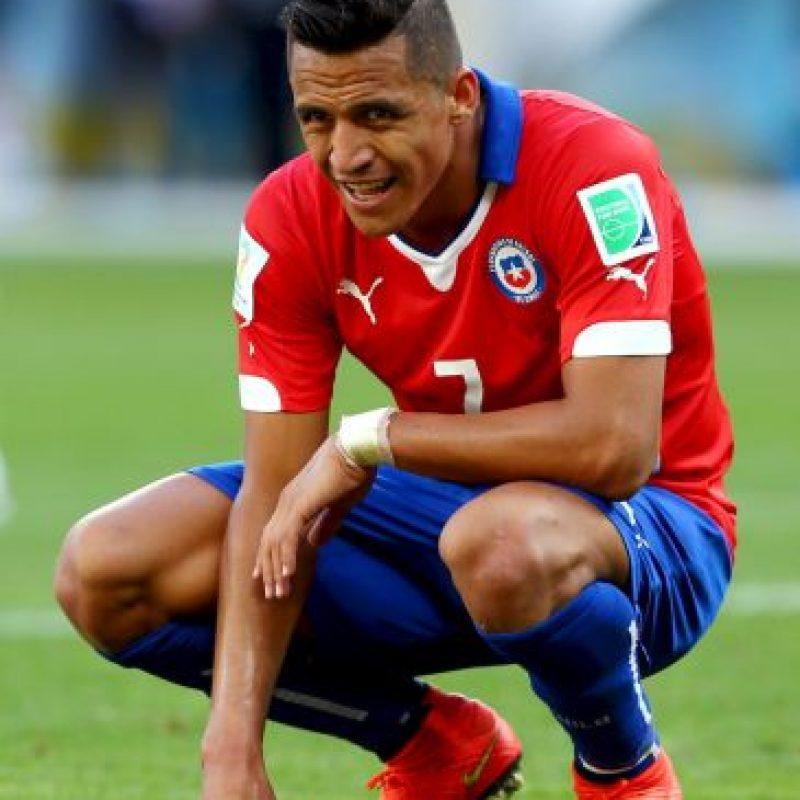 El delantero chileno vale 55 millones de euros Foto:Getty Images